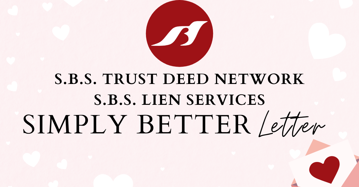Simply Better Letter – February Edition